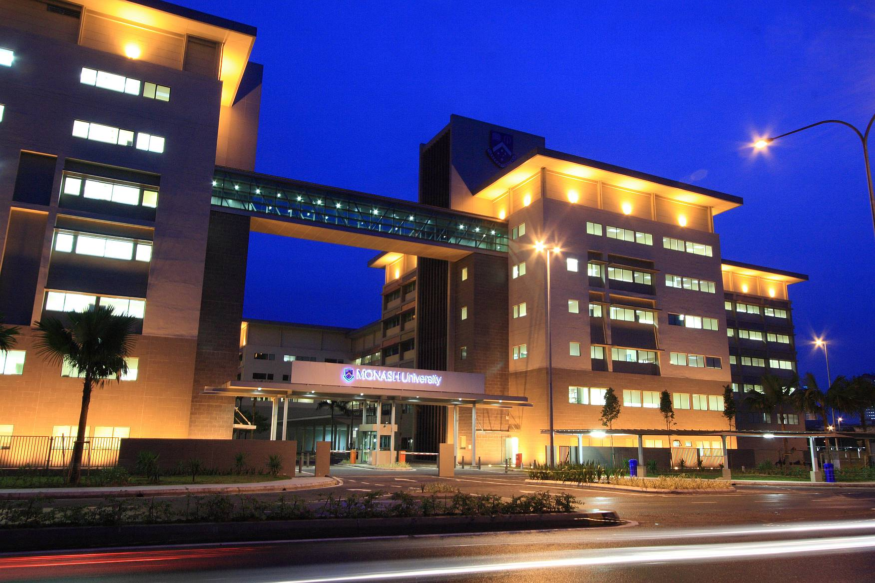 Monash University Sunway Campus (Night) - small